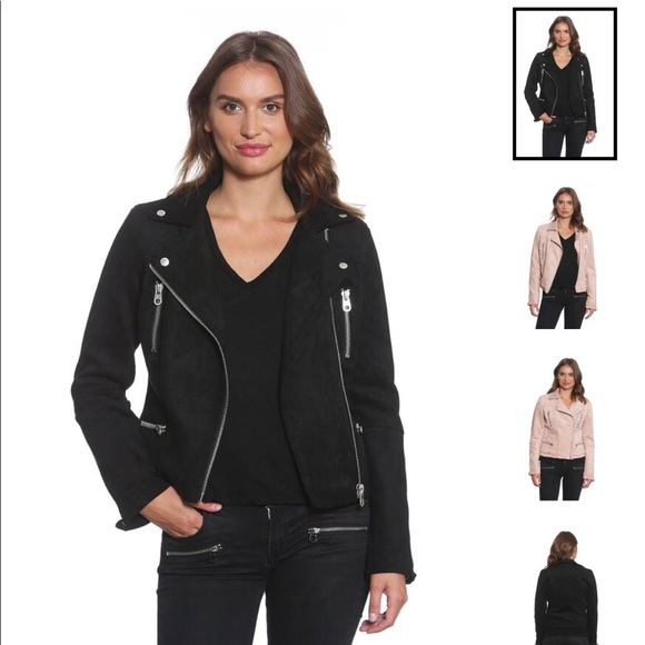 coupon code purchase cheap limited guantity Members Only Jackets & Coats   Brand New Faux Suede Biker Jacket ...
